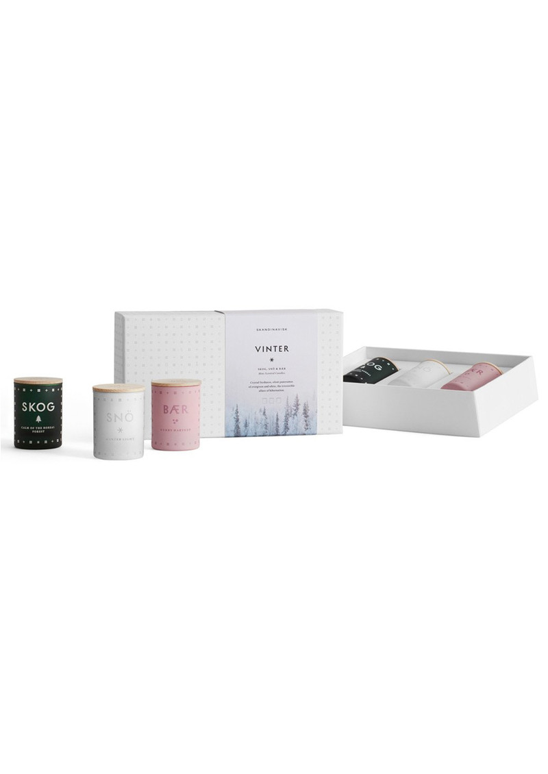 Scented Mini Candle Set - Vinter main image