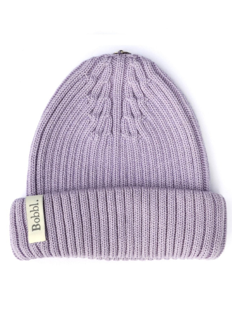 Bobbl Knitted Hat - Lilac main image
