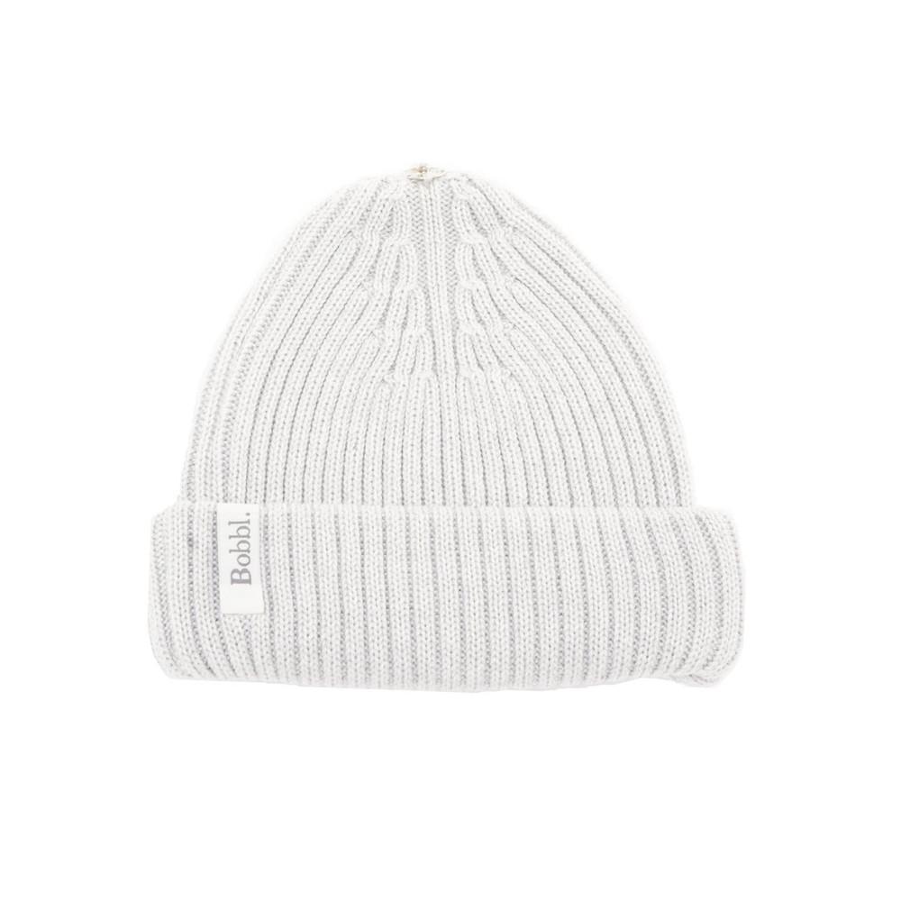 Bobbl Knitted Hat - Light Grey