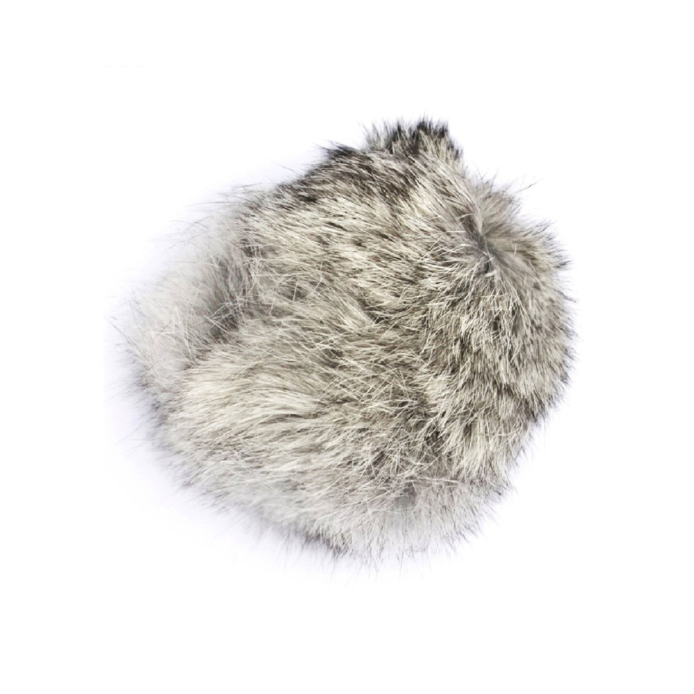 Faux Fur Small Bobbl - Natural