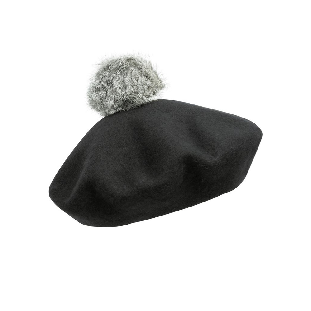 Beret Hat - Black