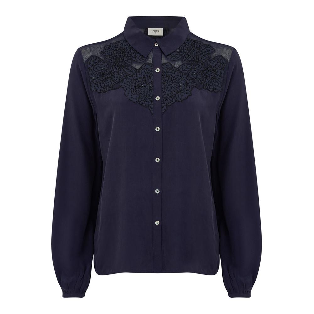 Rosa Shirt - Navy