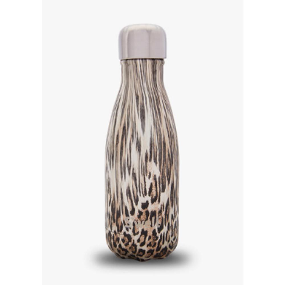 Textile 9oz Bottle - Khaki Cheetah