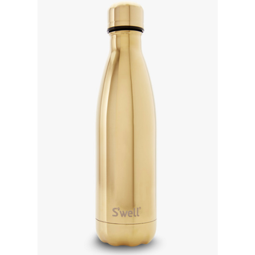 Metallic 17oz Water Bottle - Gold