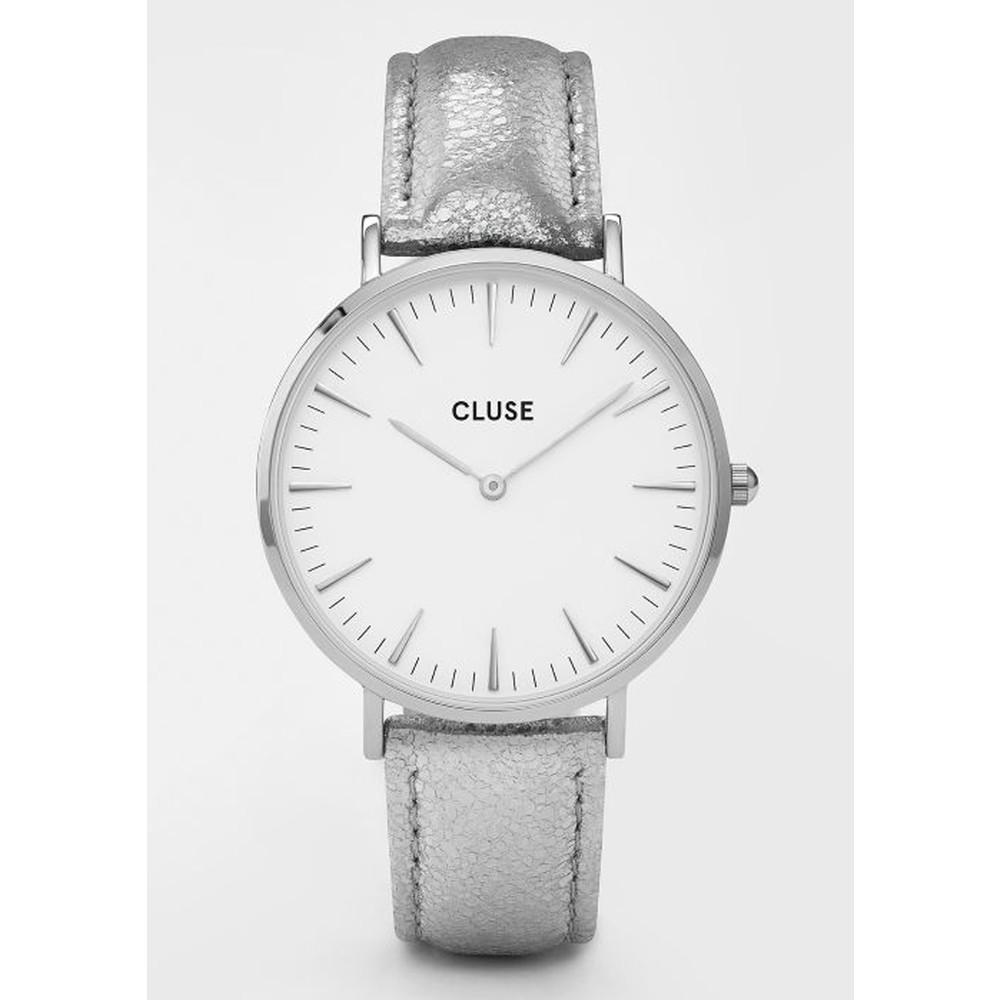 La Boheme Metallic Watch - Silver & White