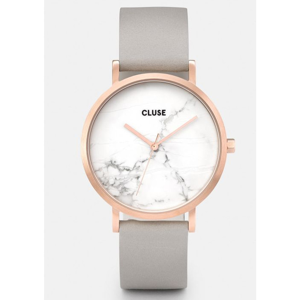 La Roche Rose Gold Watch - Grey & White