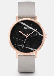 CLUSE La Roche Rose Gold Watch - Black & Grey