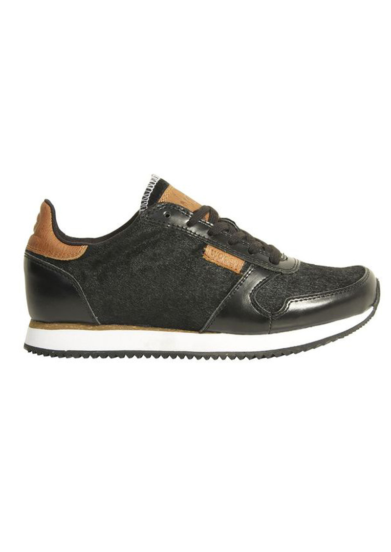 WODEN Ydun Hair Trainers - Black main image