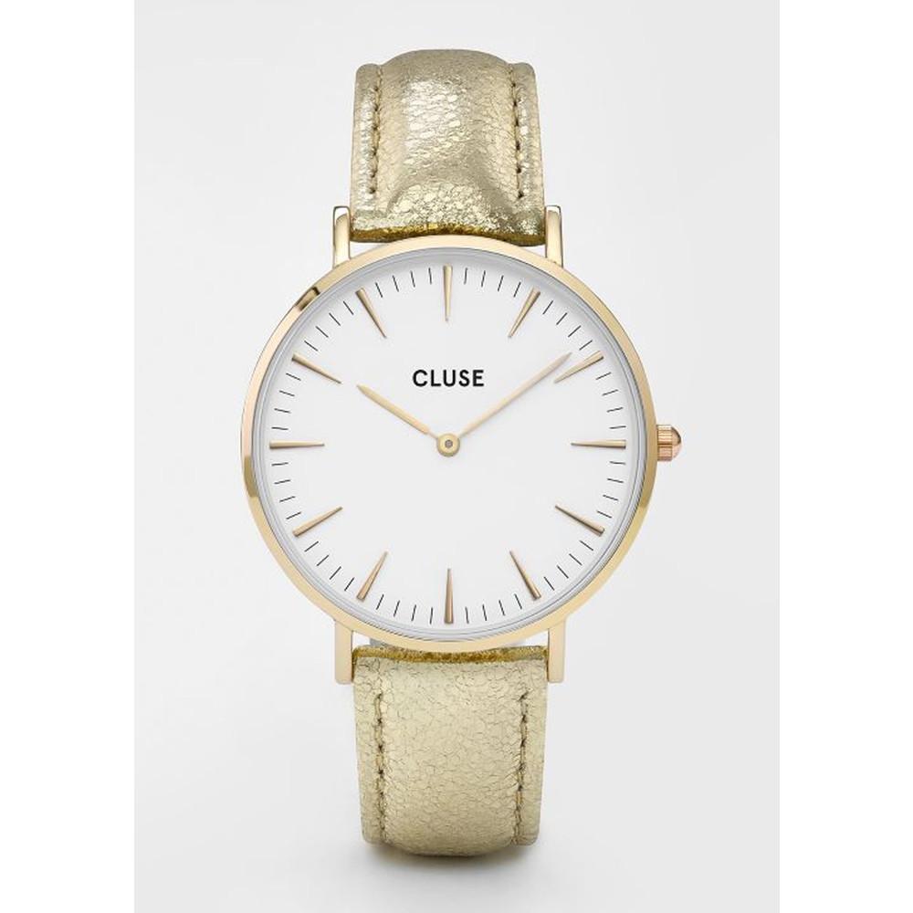 La Boheme Metallic Watch - Gold & White