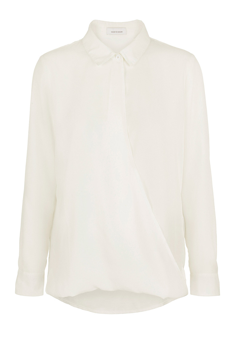 SAMSOE & SAMSOE Emilia Shirt - Clear Cream main image