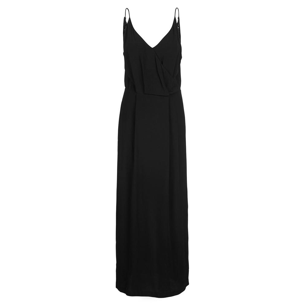 Ginni Long Dress - Black