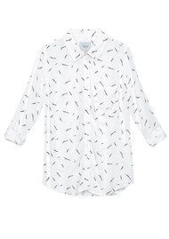Rails Rocsi Shirt - Feathers