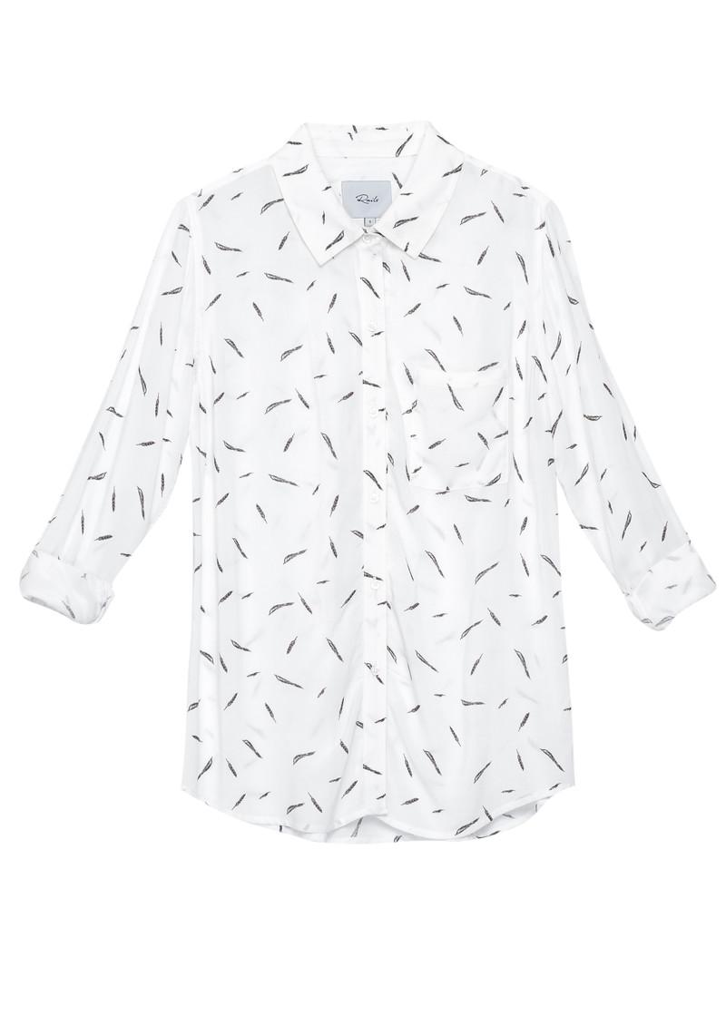 Rails Rocsi Shirt - Feathers main image