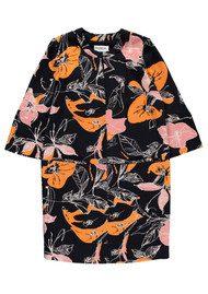 Essentiel Nouette Floral Dress - Black