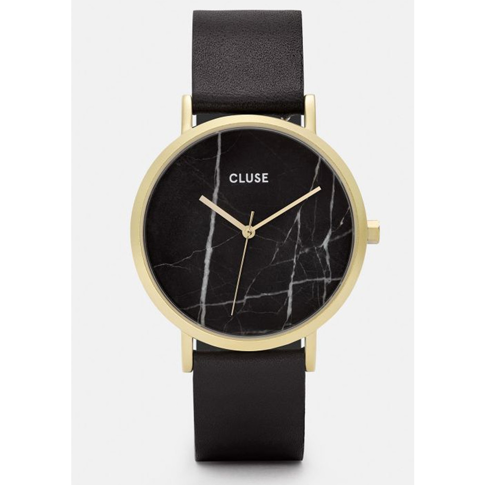 La Roche Marble Watch - Black & Gold