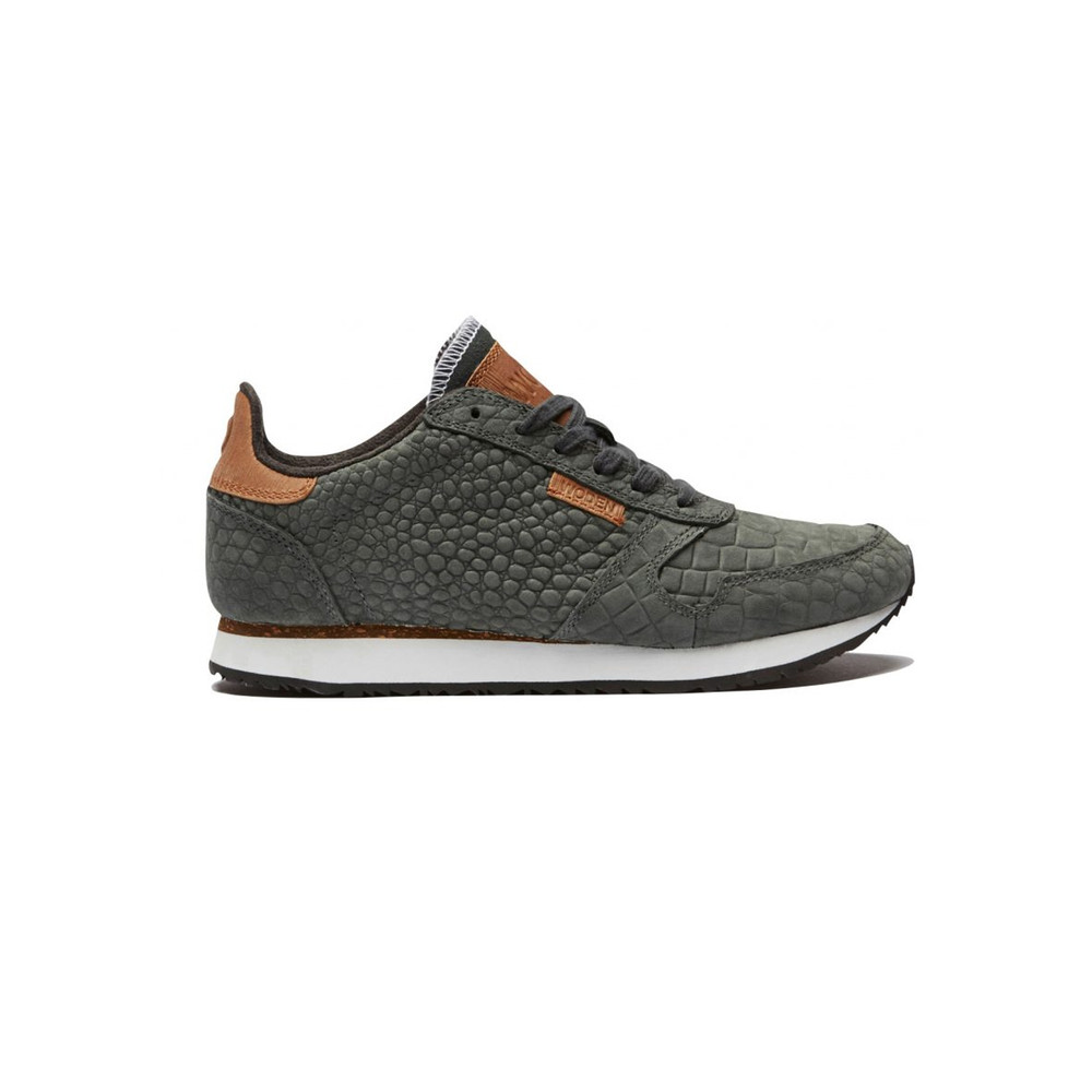 Ydun Croco Trainers - Dark Grey