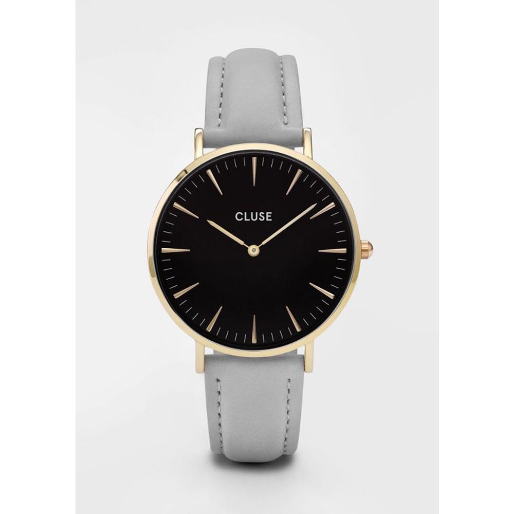 La Boheme Gold Watch - Black & Grey