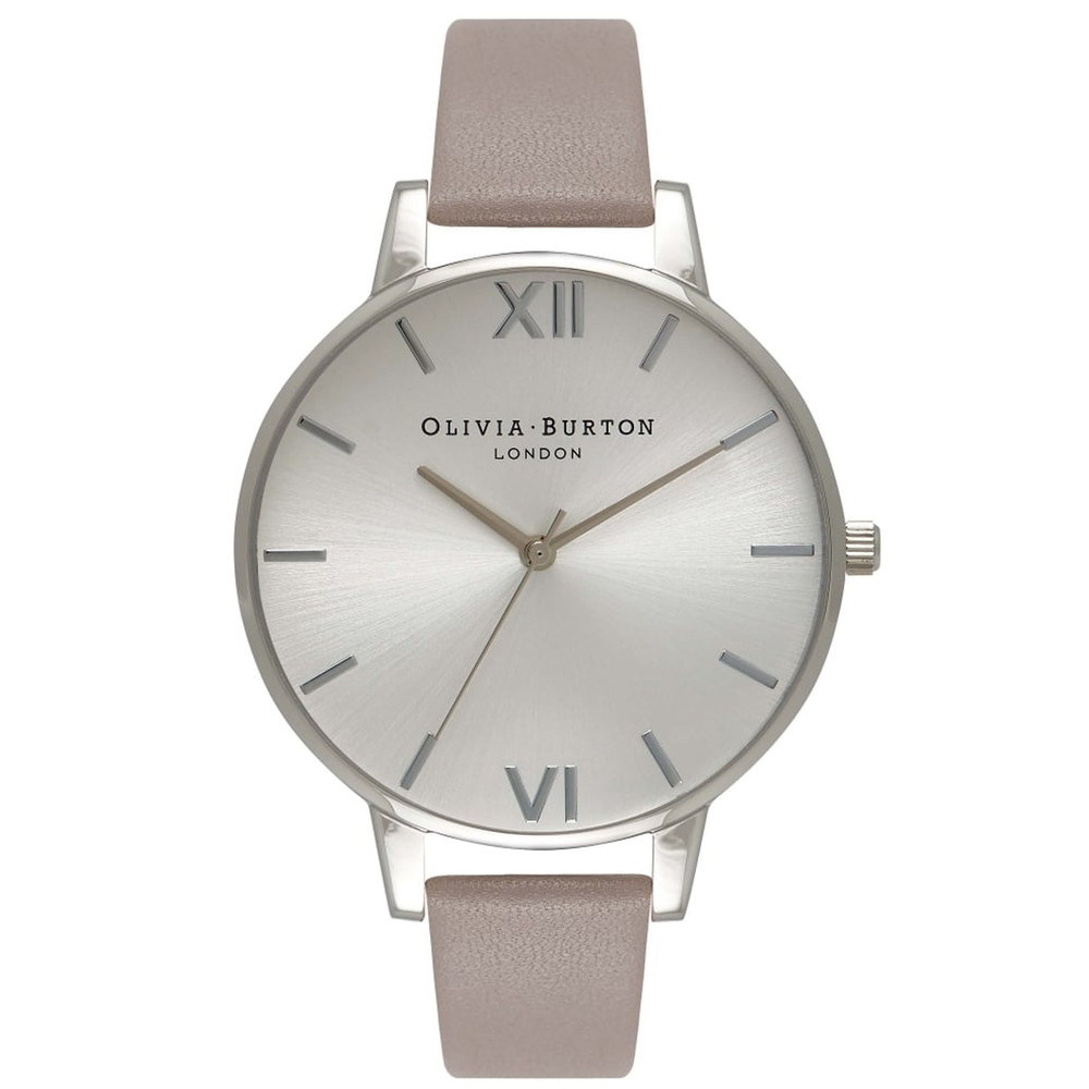Big Dial Watch - London Grey & Silver