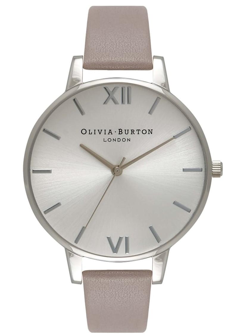 Olivia Burton Big Dial Watch - London Grey & Silver main image