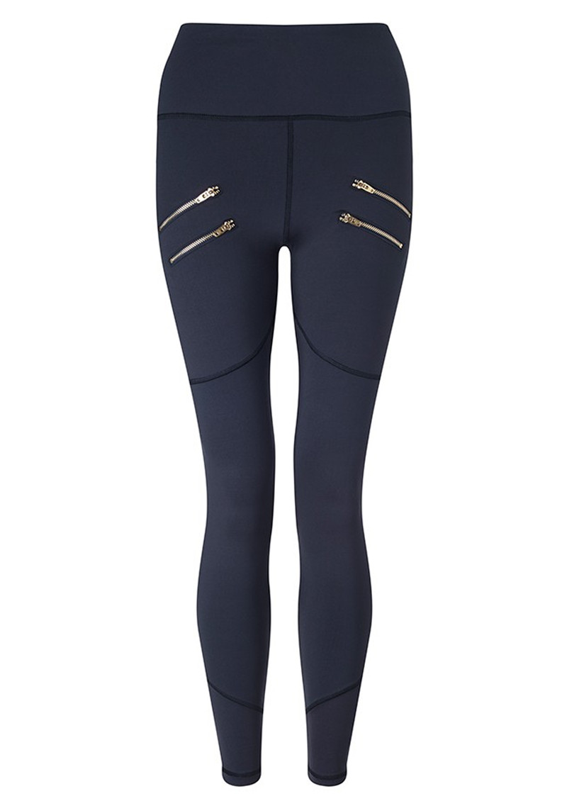VARLEY Palms Compression Tight Leggings - Navy main image