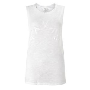 Lakeview Sleeveless T-Shirt - White