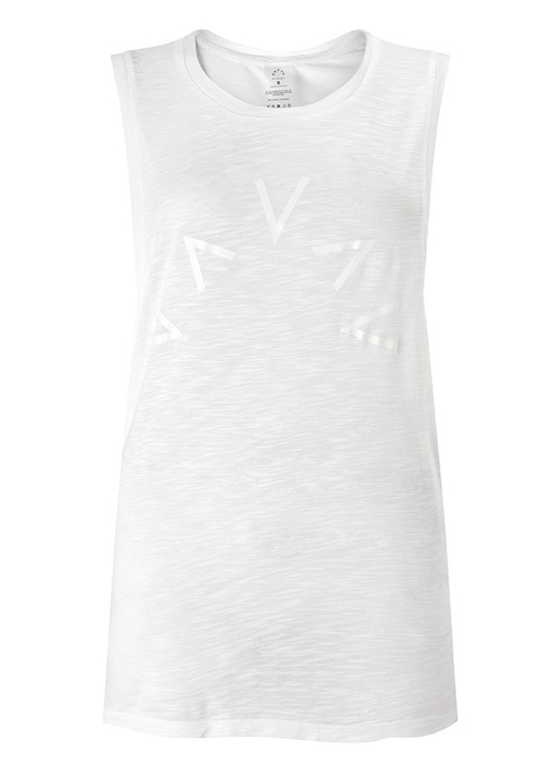 VARLEY Lakeview Sleeveless T-Shirt - White main image