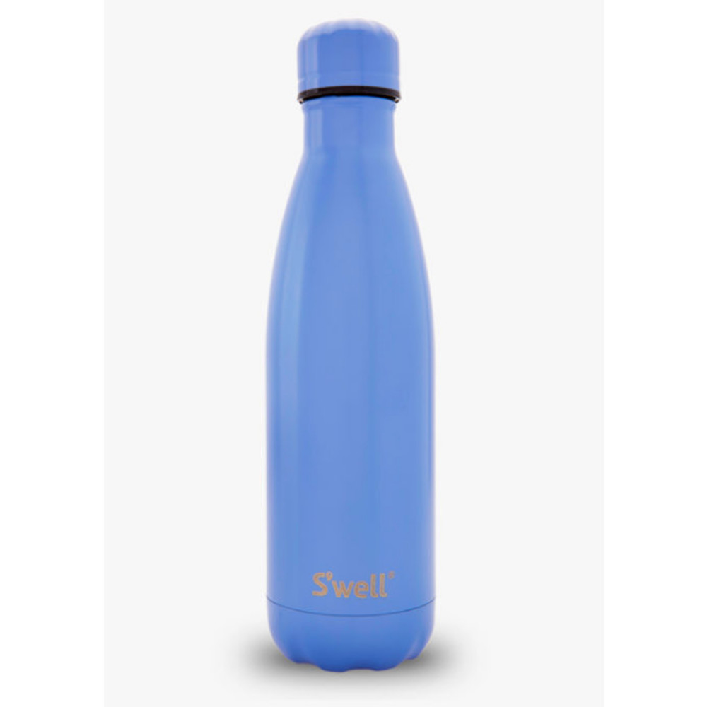 The Satin 17oz Bottle - Monaco Blue