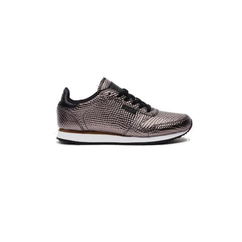 Ydun Metallic Trainers - Gunmetal