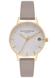 Olivia Burton The Dandy Watch - London Grey & Gold