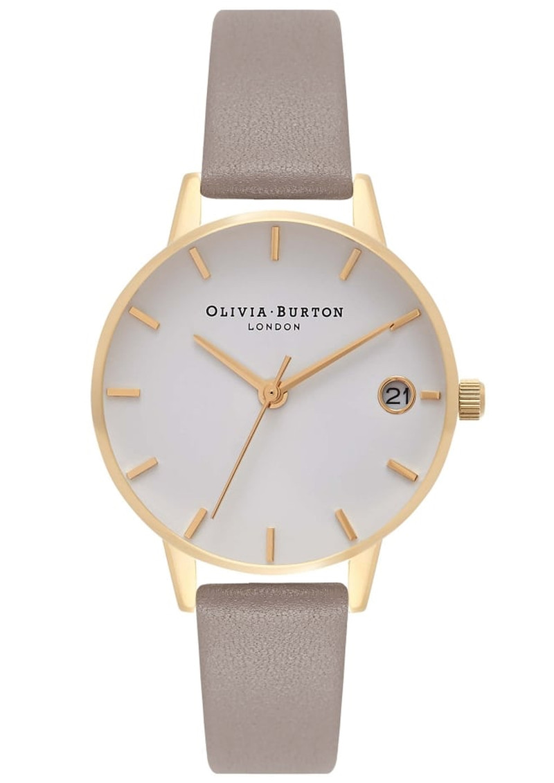 Olivia Burton The Dandy Watch - London Grey & Gold main image