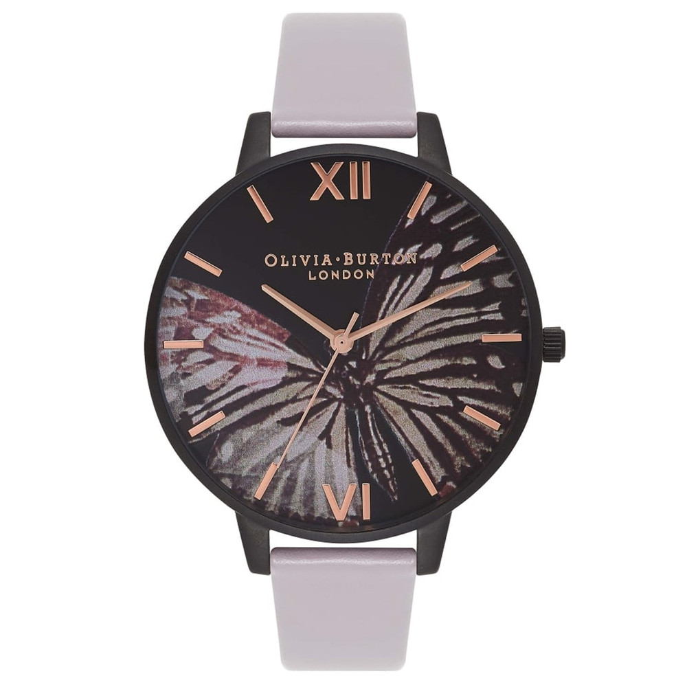 After Dark Butterfly Watch - Grey Lilac & IP Black