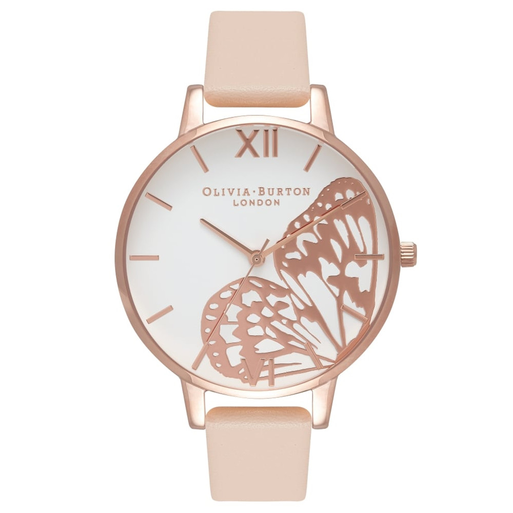 Applied Wing Watch - Nude Peach & Rose Gold