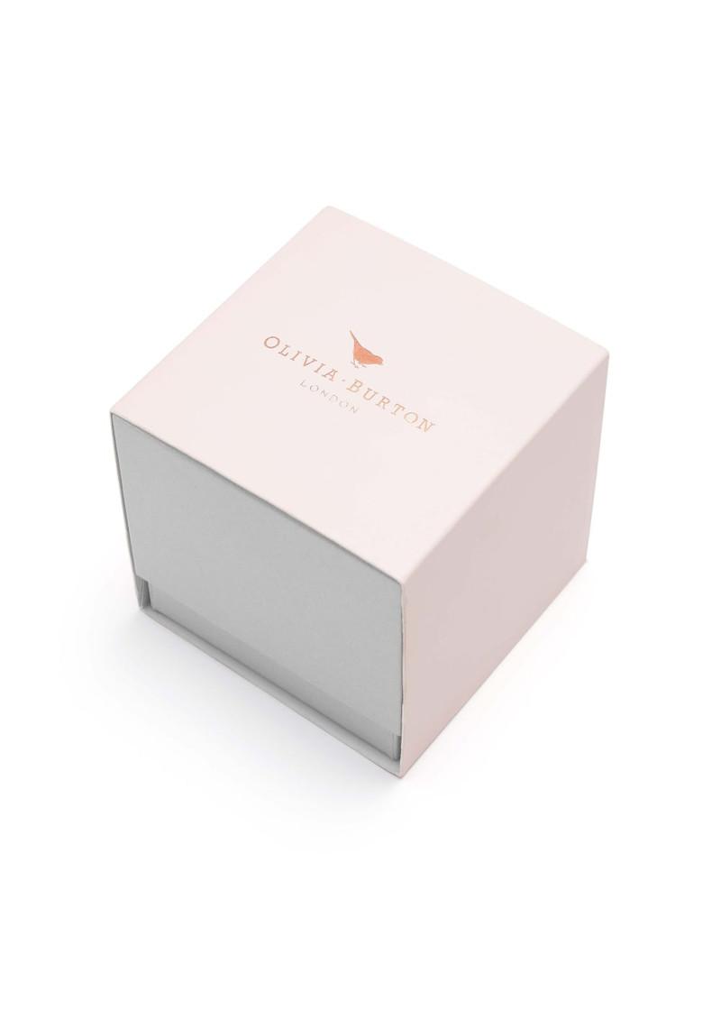Olivia Burton Applied Wing Watch - Nude Peach & Rose Gold main image
