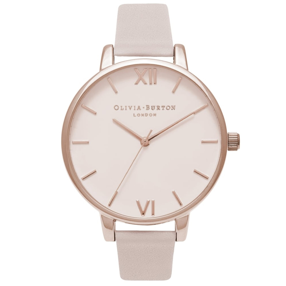 Big Dial Watch - Blush & Rose Gold