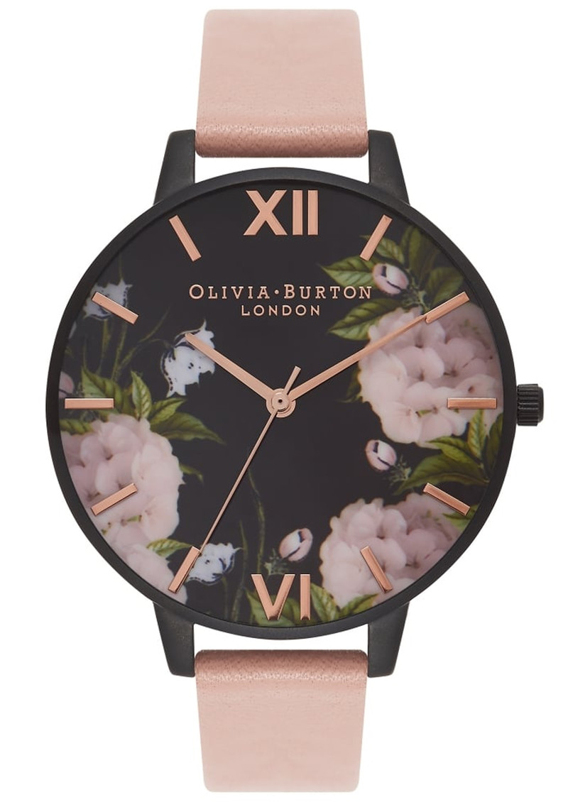 Olivia Burton After Dark Floral Watch - Dusty Pink & Rose Gold main image