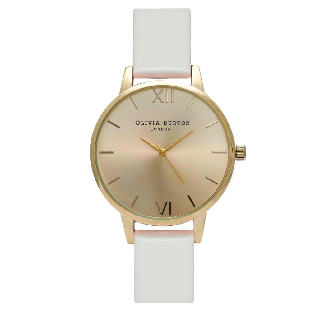 Midi Dial Watch - Blush & Gold