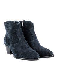 Ash Heidi Bis Suede Boots - Midnight