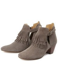 Hudson London Neeka Suede Boot - Taupe