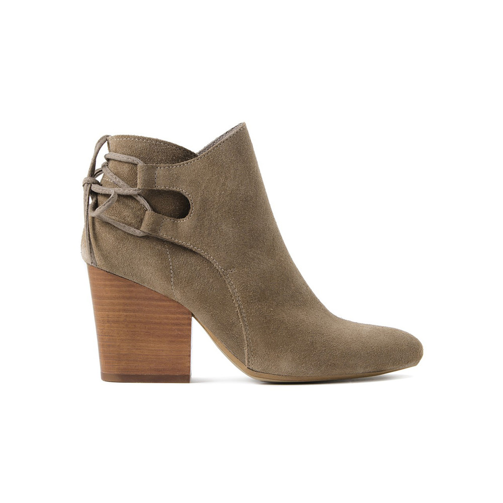 Minka Suede Boot - Taupe
