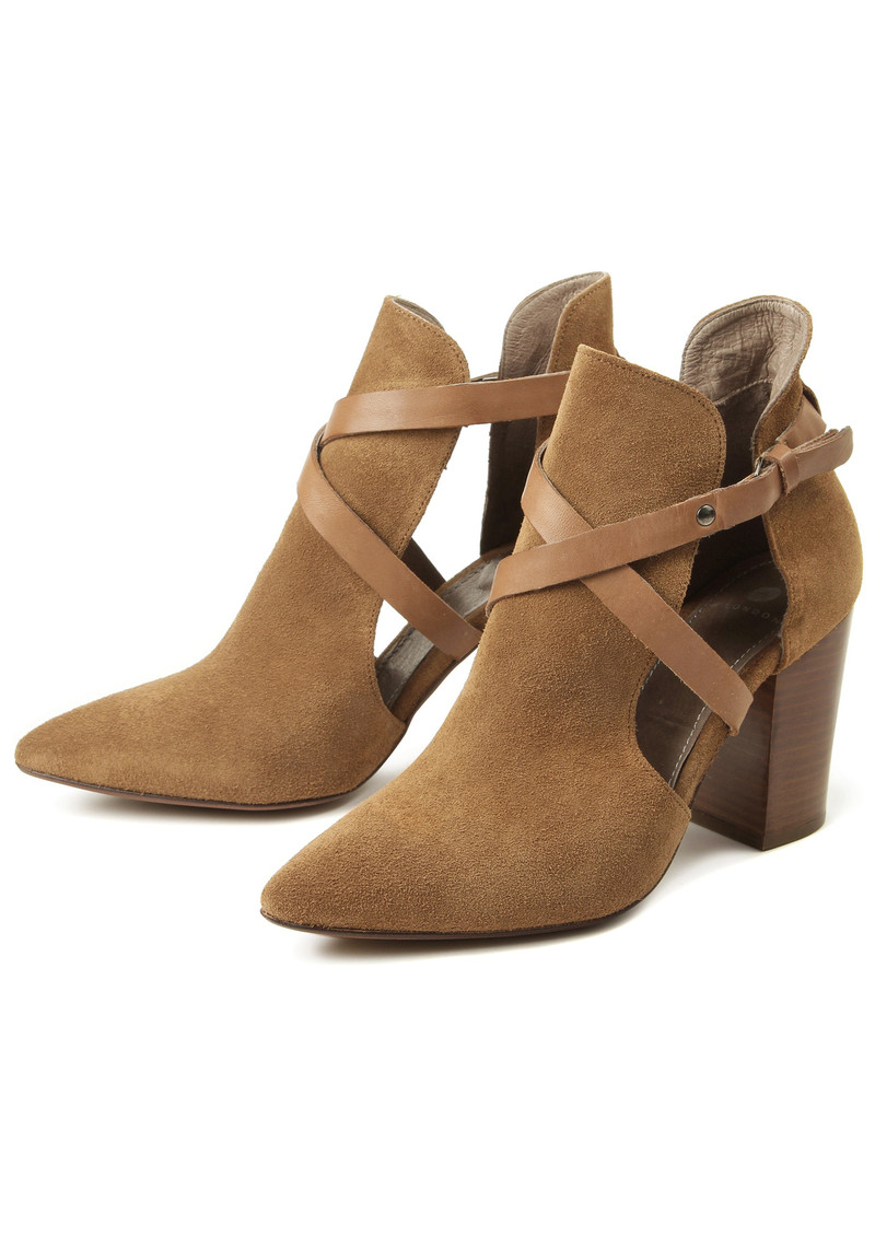 Hudson London Geneve Suede Ankle Boot - Cognac main image