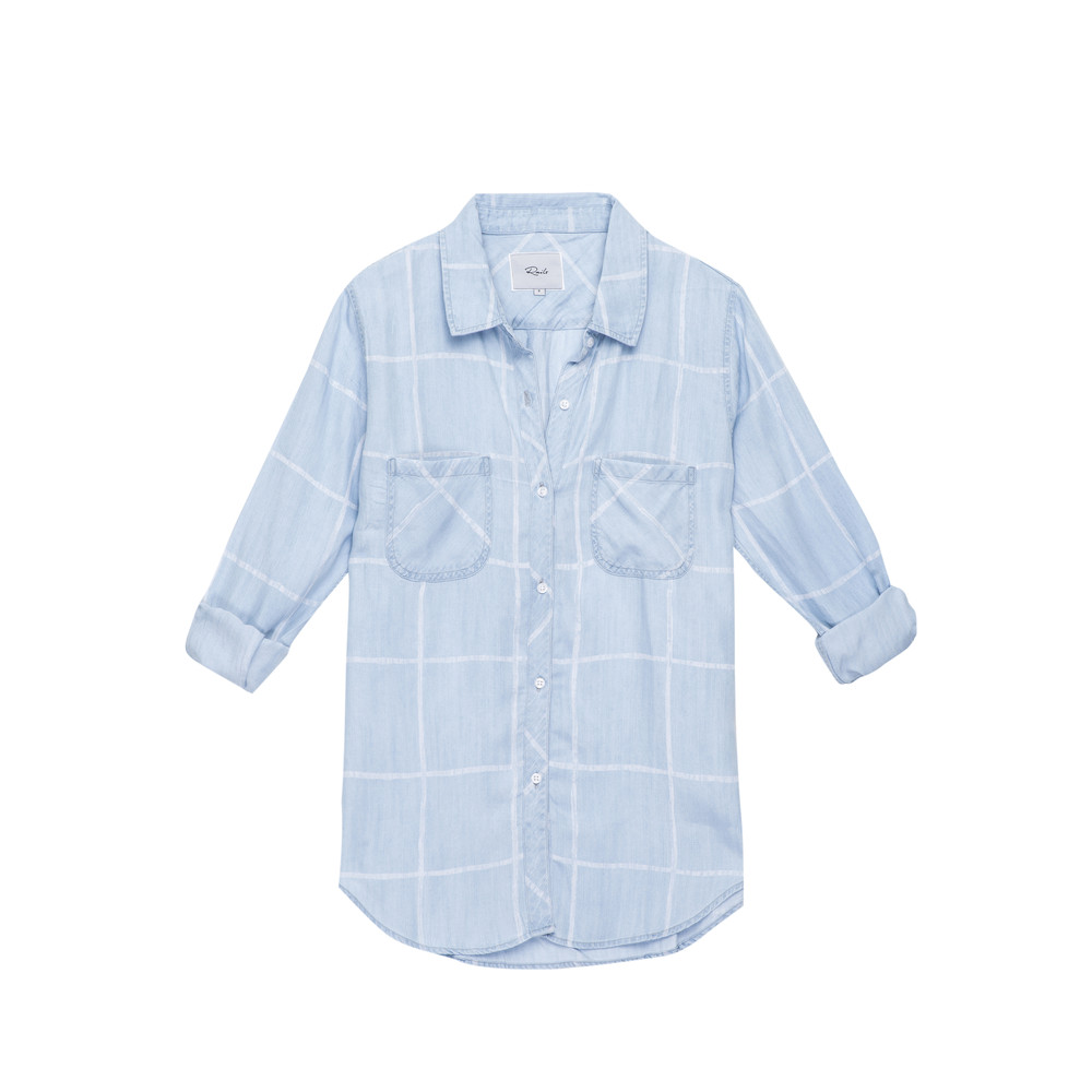 Carter Shirt - Watercolour Grid