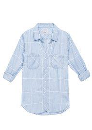 Rails Carter Shirt - Watercolour Grid