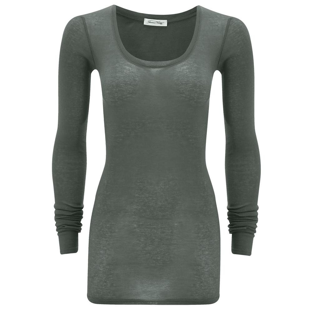 Massachusetts Long Sleeve T-Shirt - Stone