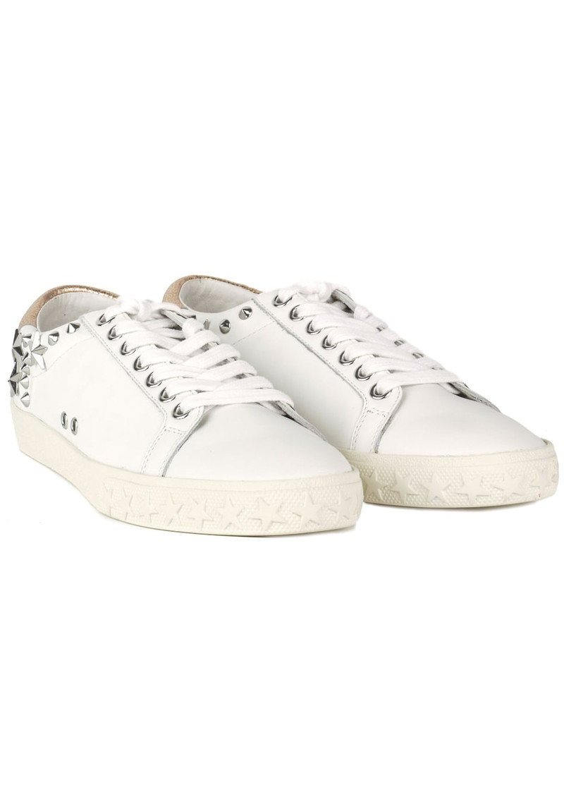 Ash Dazed Studded Trainers - White & Metallic Pink main image