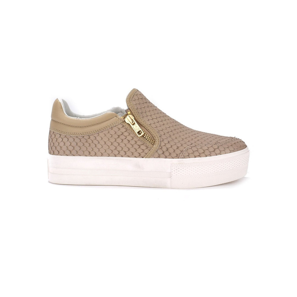 Jordy Python Trainers - Taupe