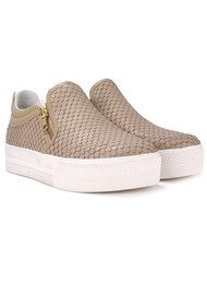 Ash Jordy Python Trainers - Taupe