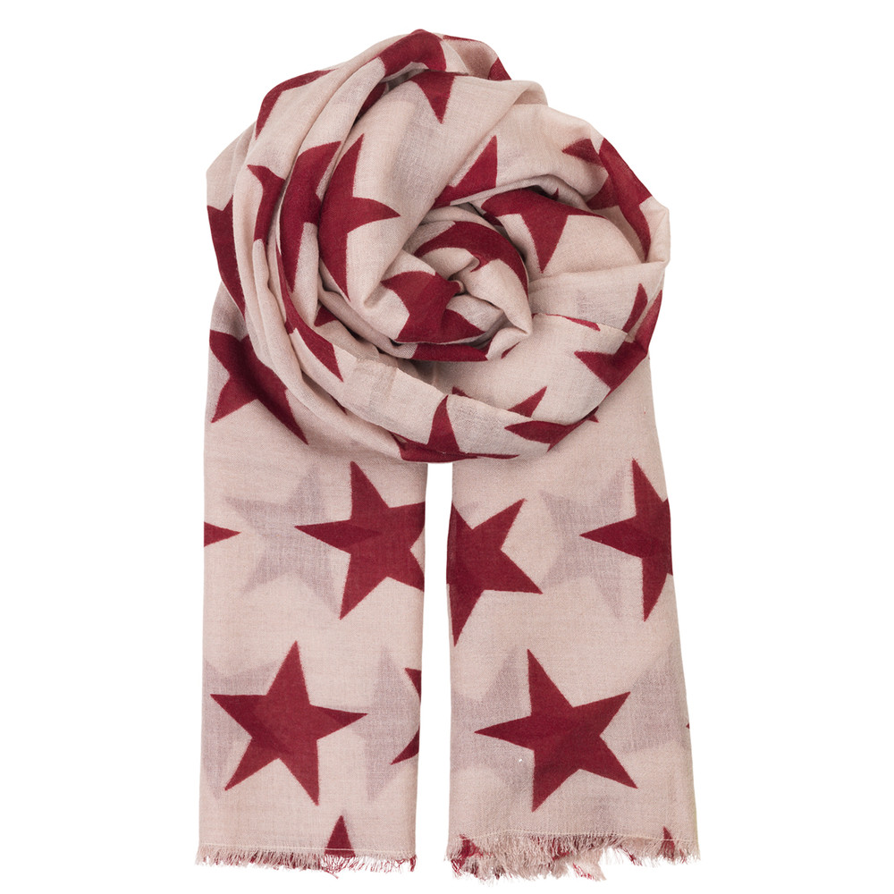Supersize Nova Scarf - Beet Red