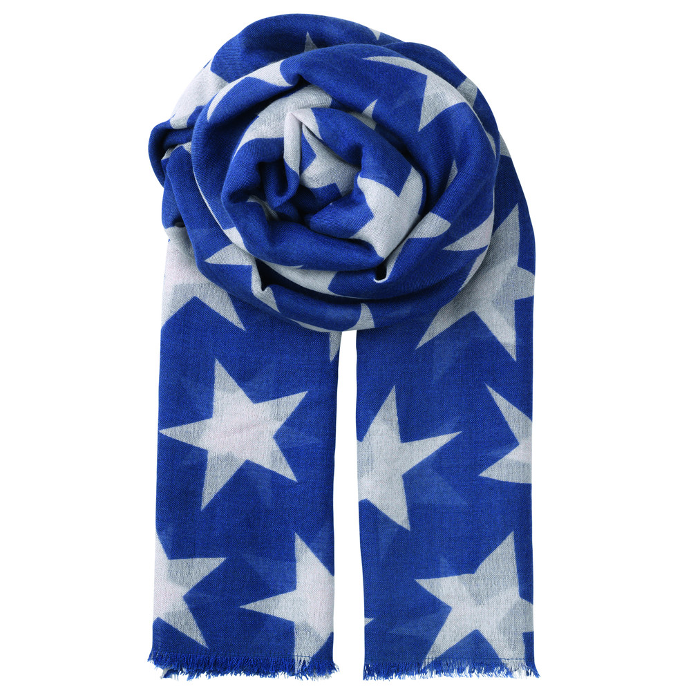 Supersize Nova Scarf - Royal Blue