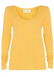American Vintage Jacksonville Long Sleeved T-Shirt - Solar