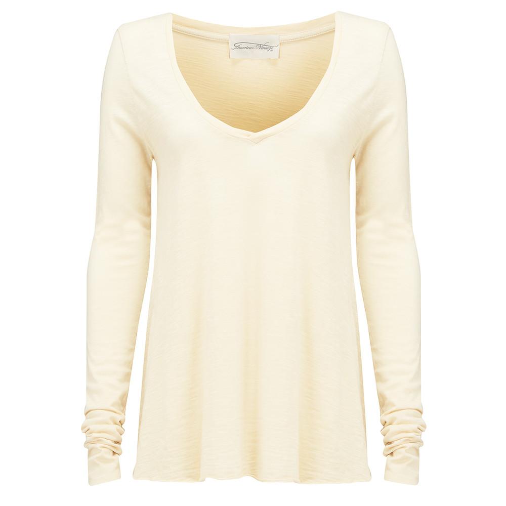Jacksonville Long Sleeved T-Shirt - Ivory